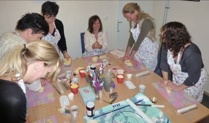 Workshop in actie