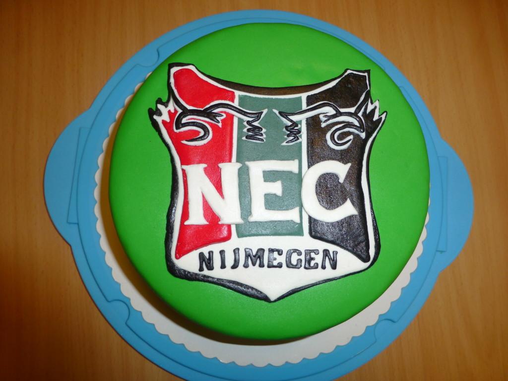 Verjaardagstaart NEC