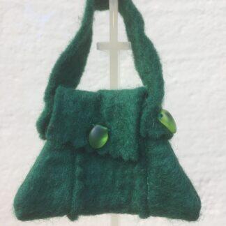 Tasje donker groen druppel