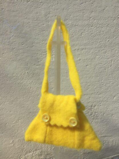 Tasje geel knoopjes