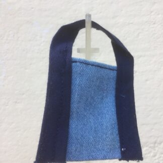 Tasje spijker blauw